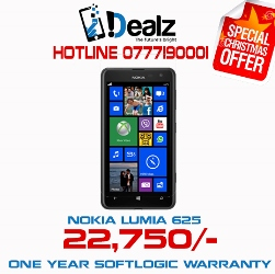 iDealz Nokia Lumia 625 Promotion