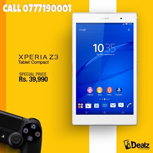 iDealz Sony Xperia Z3 Tablet Compact Promotion