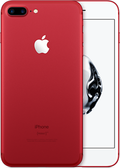 Apple IPhone 7 Plus 128GB PRODUCTRED